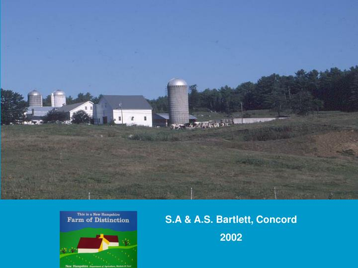 S.A & A.S. Bartlett, Concord