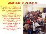 adozione a distanza