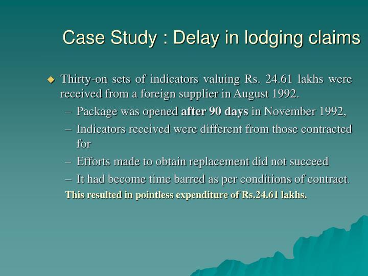 Liquidated damages case study