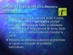 legisla ie european directiva 2003 10 ec3