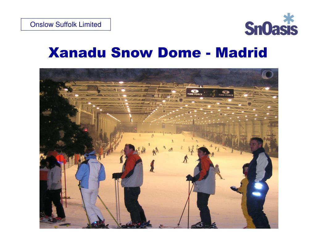 Xanadu Snow Dome - Madrid
