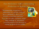 first preference eb1 outstanding professors or researchers