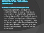 meditaci n creativa desarrollo el poder de las im genes creativas problemas
