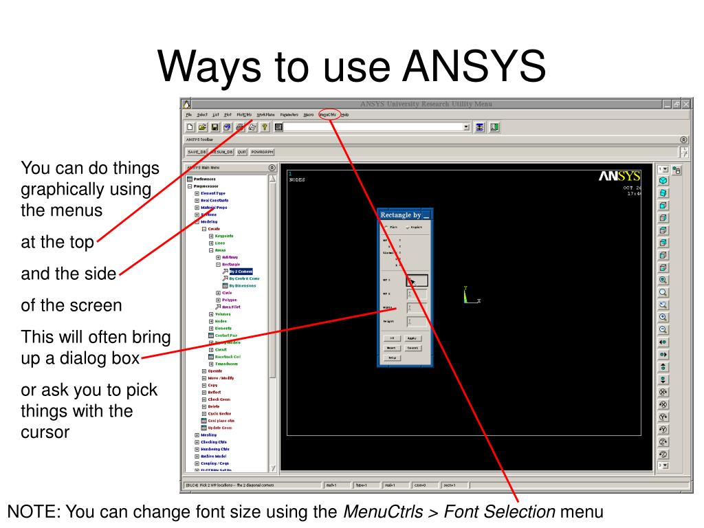 PPT - Using ANSYS PowerPoint Presentation - ID:878651