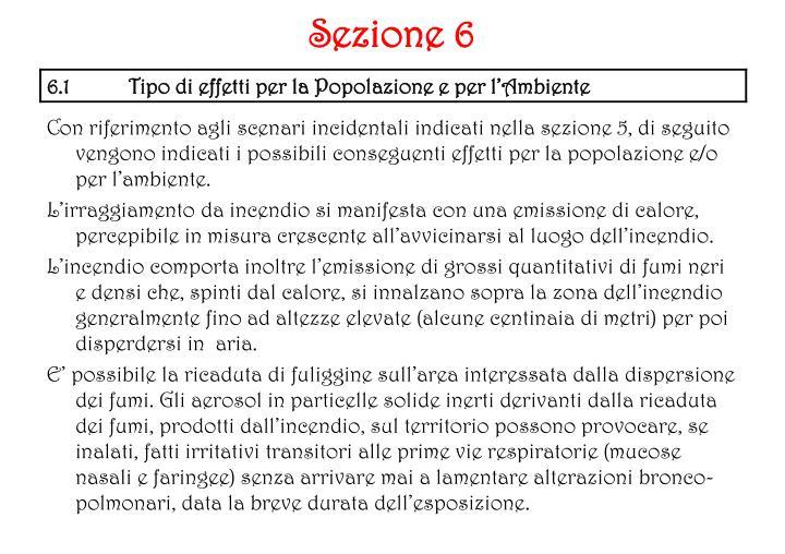 Sezione 6
