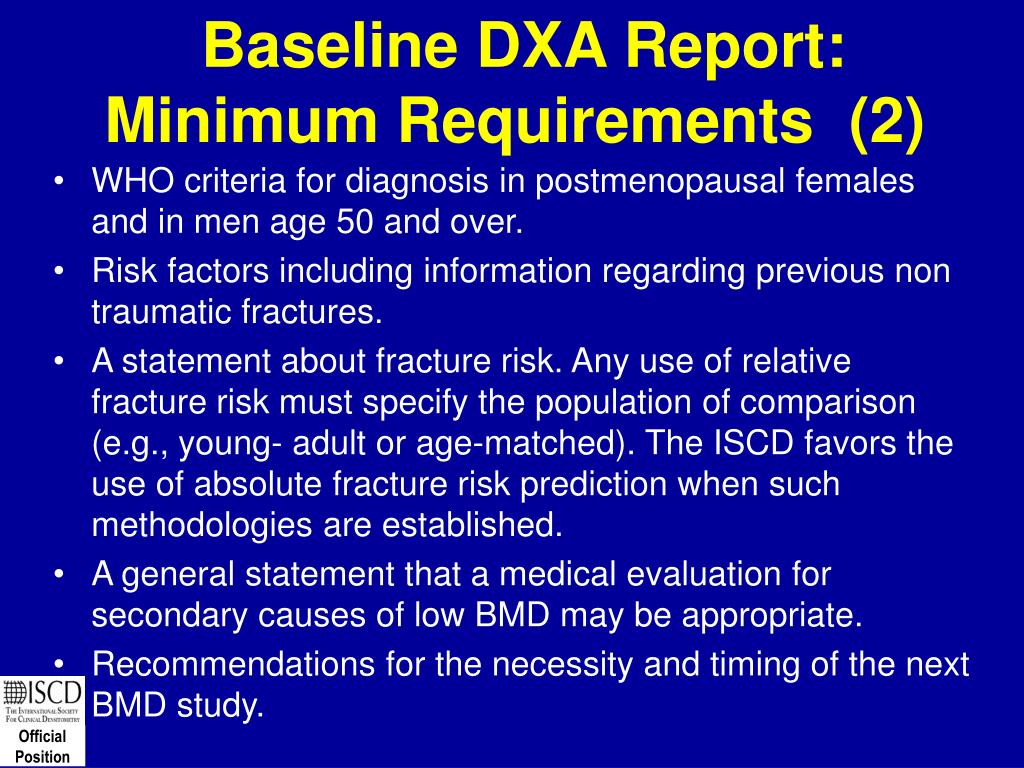 Baseline DXA Report: Minimum Requirements  (2)