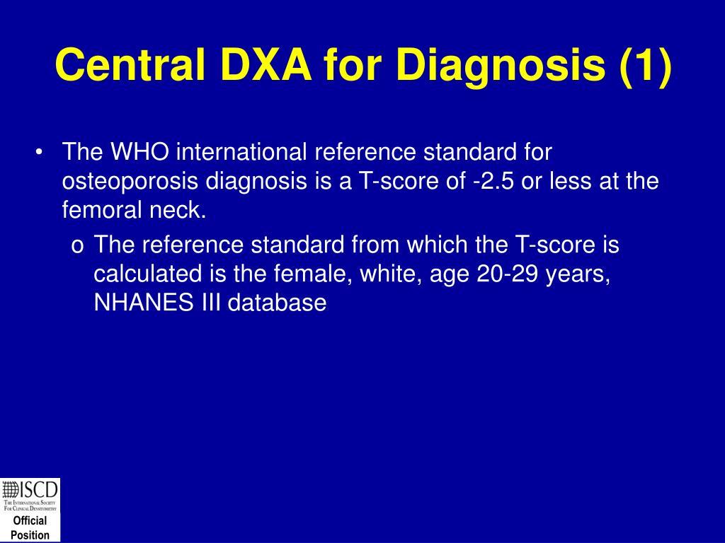 Central DXA for Diagnosis (1)