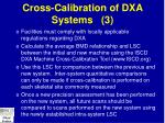 cross calibration of dxa systems 3