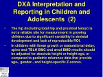 dxa interpretation and reporting in children and adolescents 2