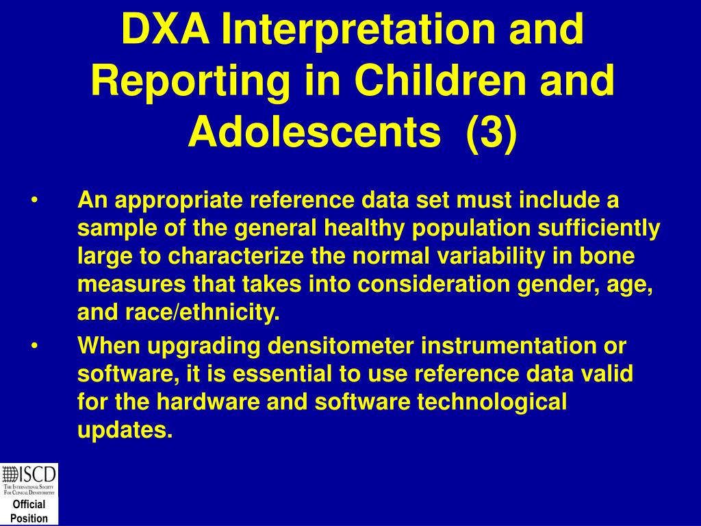 DXA Interpretation and Reporting in Children and Adolescents  (3)