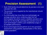 precision assessment 1