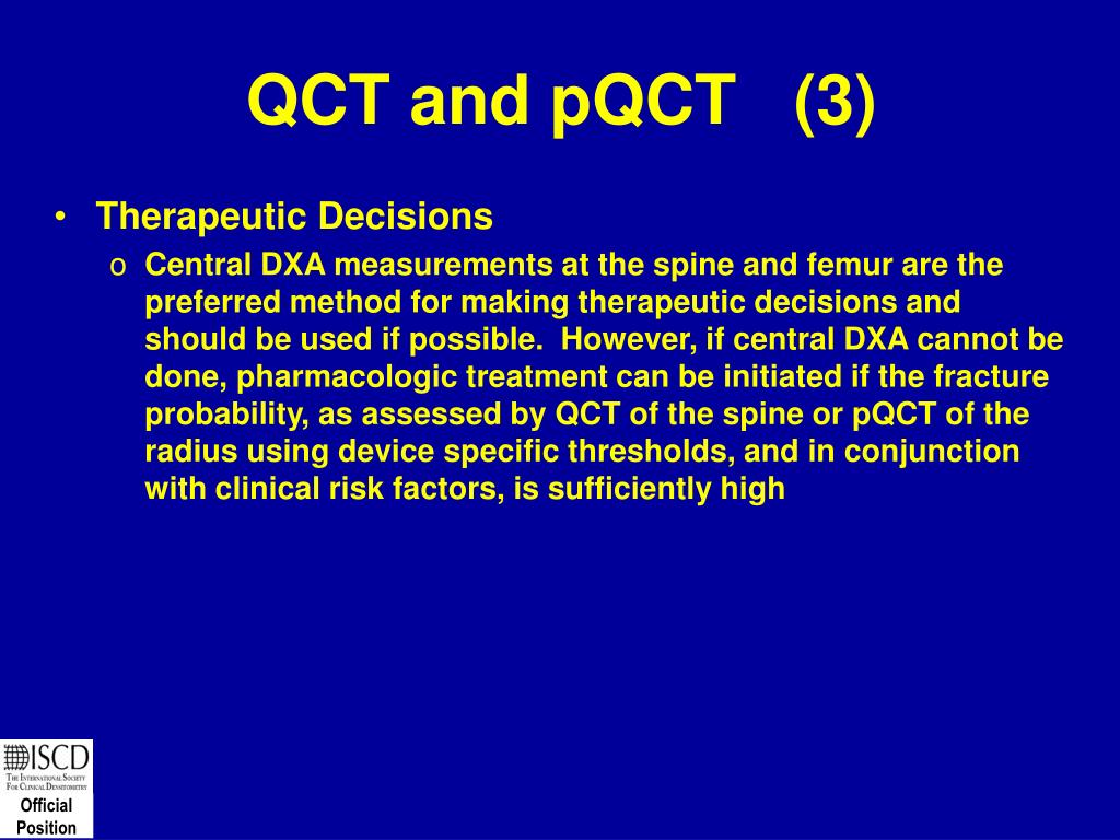 QCT and pQCT   (3)