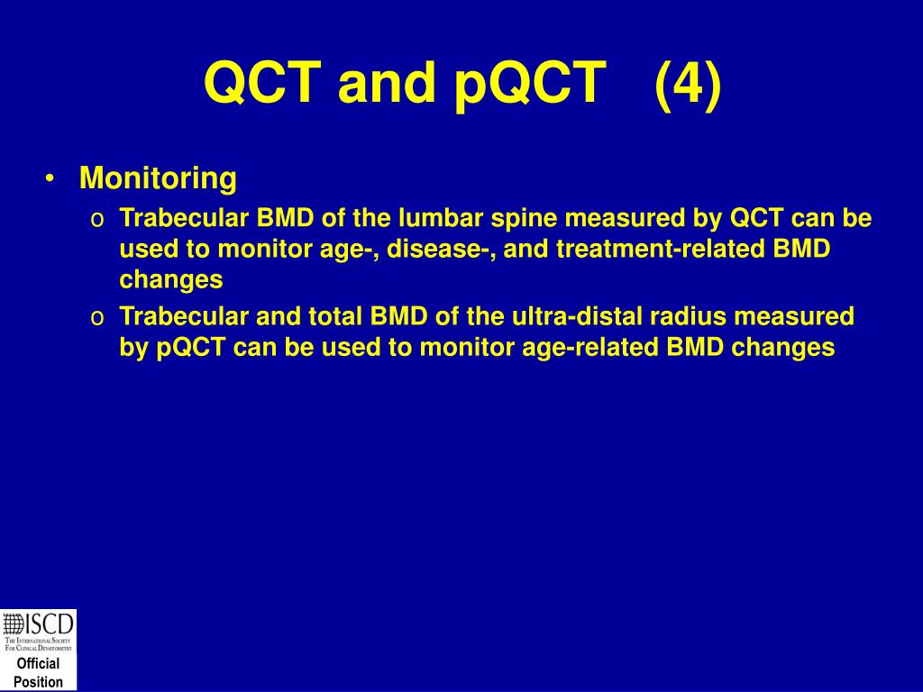 QCT and pQCT   (4)
