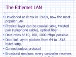 the ethernet lan
