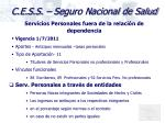 c e s s seguro nacional de salud13