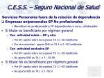 c e s s seguro nacional de salud16