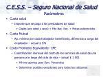 c e s s seguro nacional de salud9