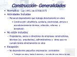 construcci n generalidades