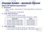 empresas rurales aportaci n patronal5