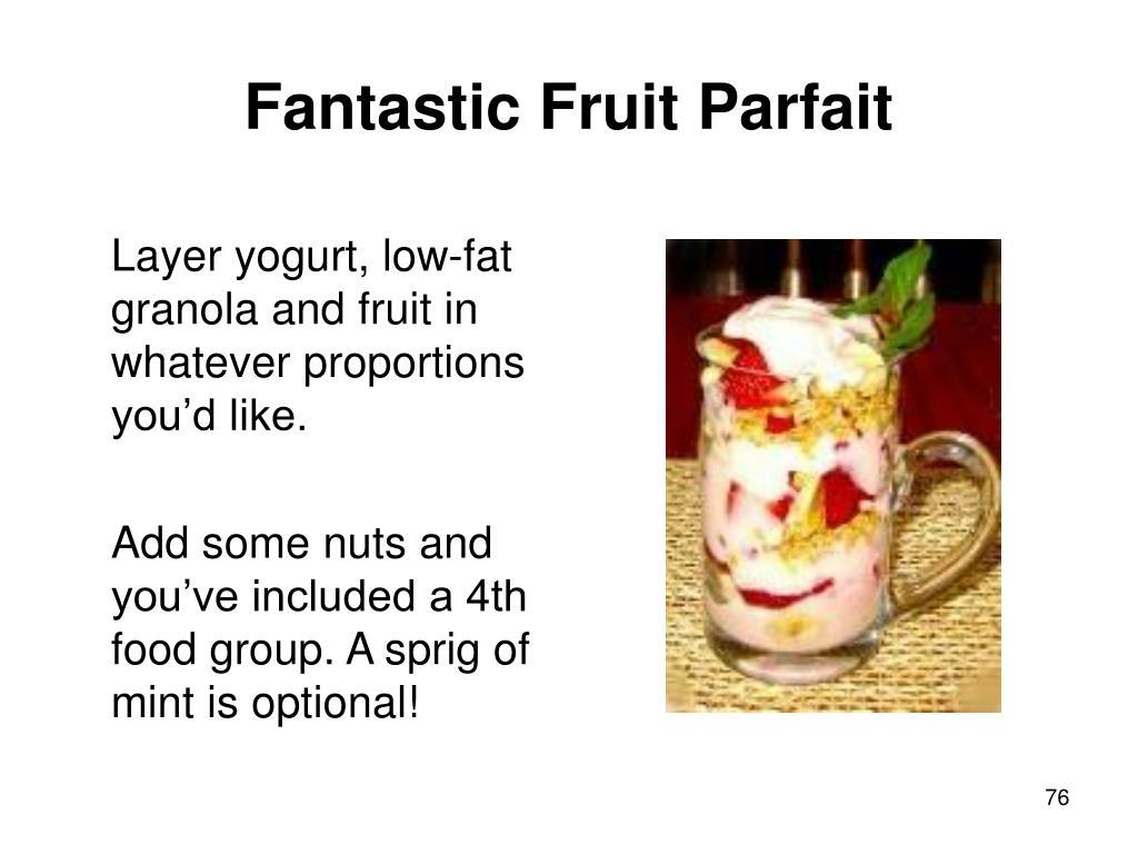 Fantastic Fruit Parfait