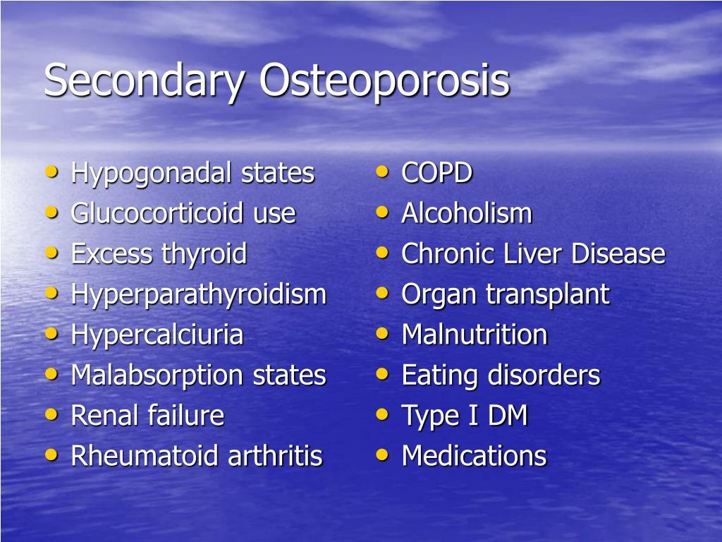Hypogonadal states
