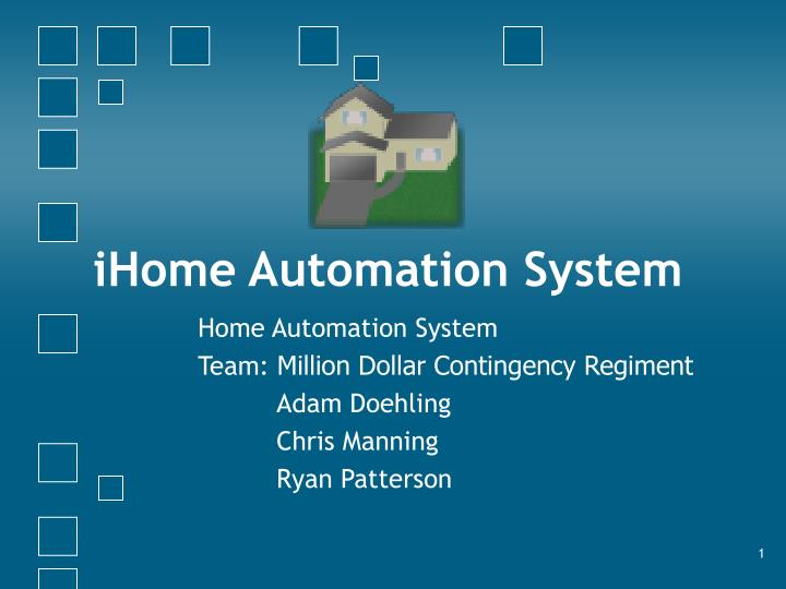 ihome automation system n.