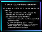 a sinner s journey in the netherworld