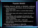 popular beliefs