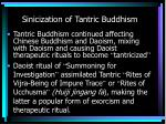 sinicization of tantric buddhism