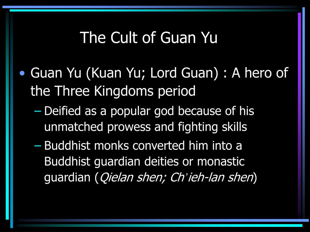 The Cult of Guan Yu