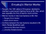 enryakuji s warrior monks