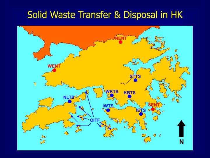 Solid Waste Transfer & Disposal in HK
