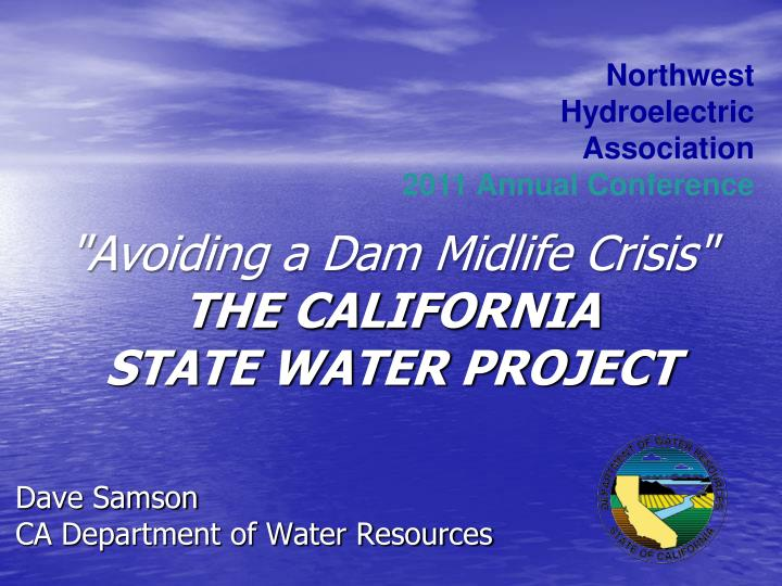 dave samson ca department of water resources n.