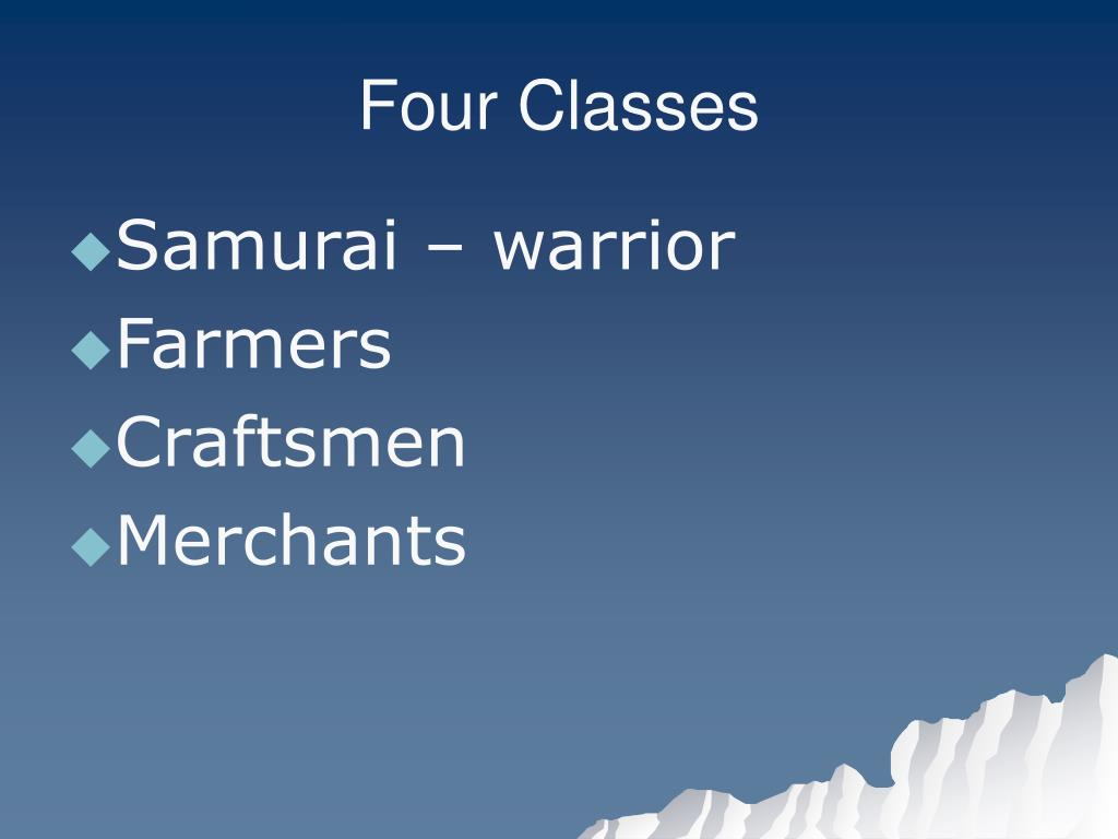 Four Classes