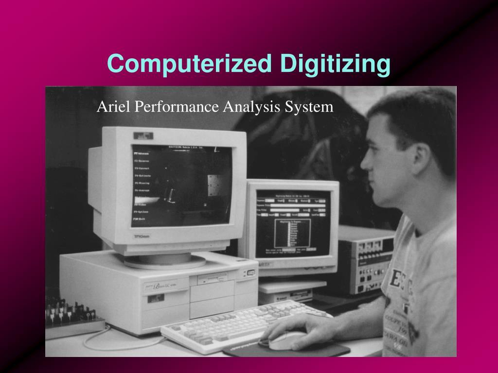 Computerized Digitizing