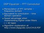 dsp equalizer fft convolution