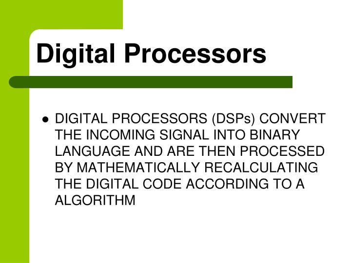 Digital processors