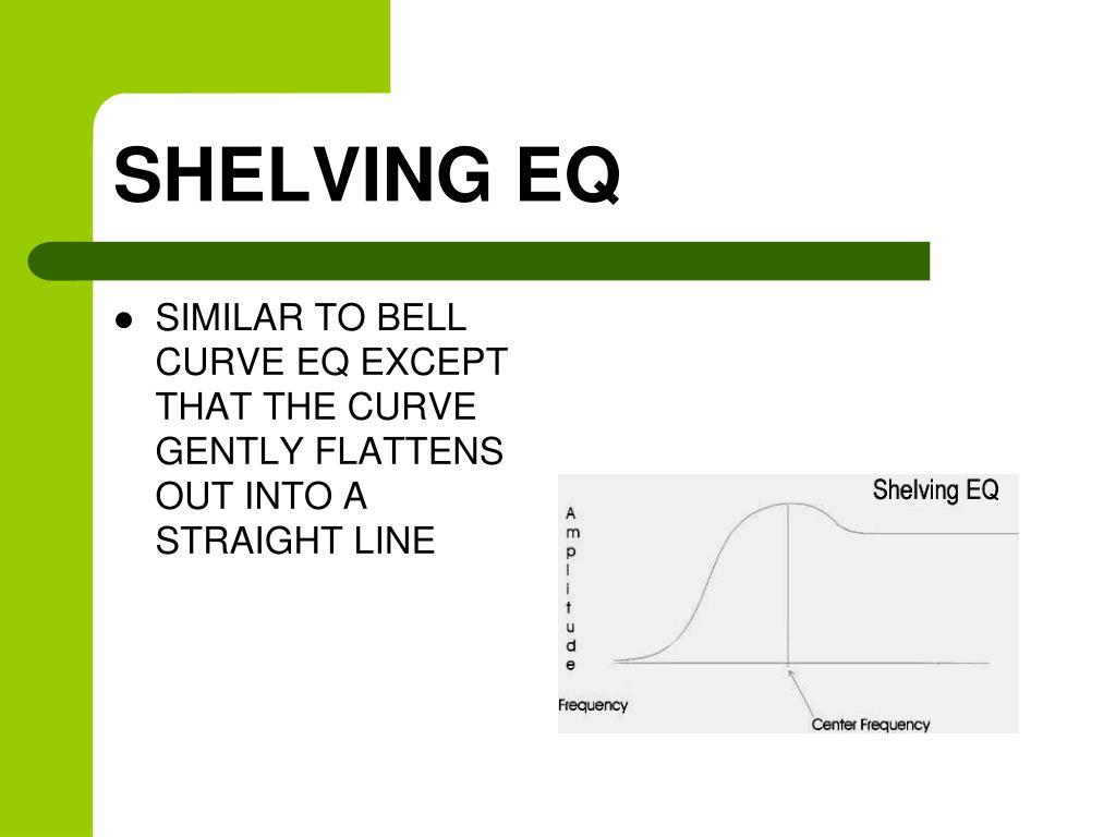SHELVING EQ