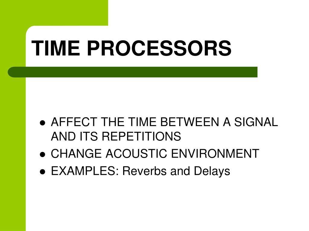TIME PROCESSORS