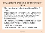 human rights under the constitution of india3