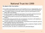 national trust act 19993