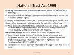 national trust act 19995