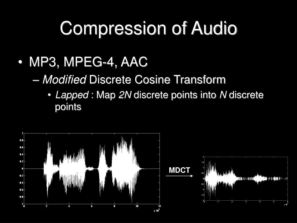 Compression of Audio