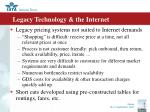 legacy technology the internet