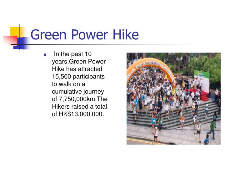 Green Power Hike
