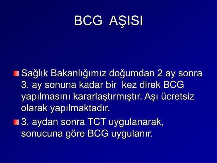 BCG  AŞISI