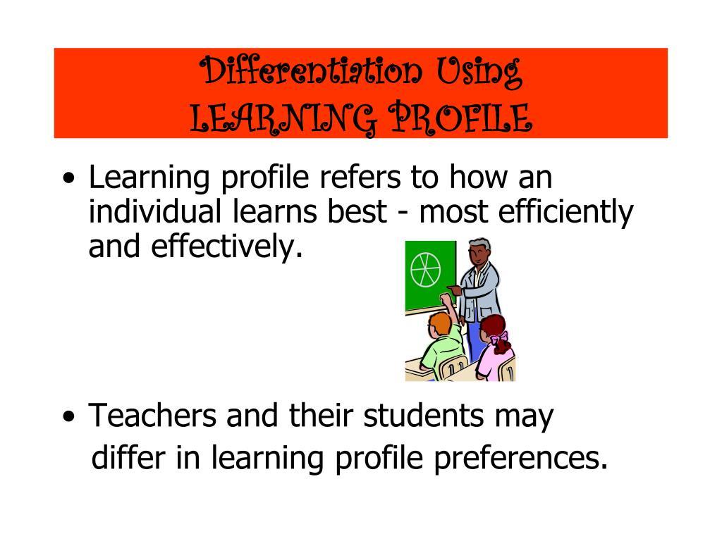 Differentiation Using