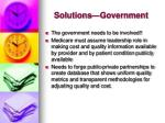 solutions government