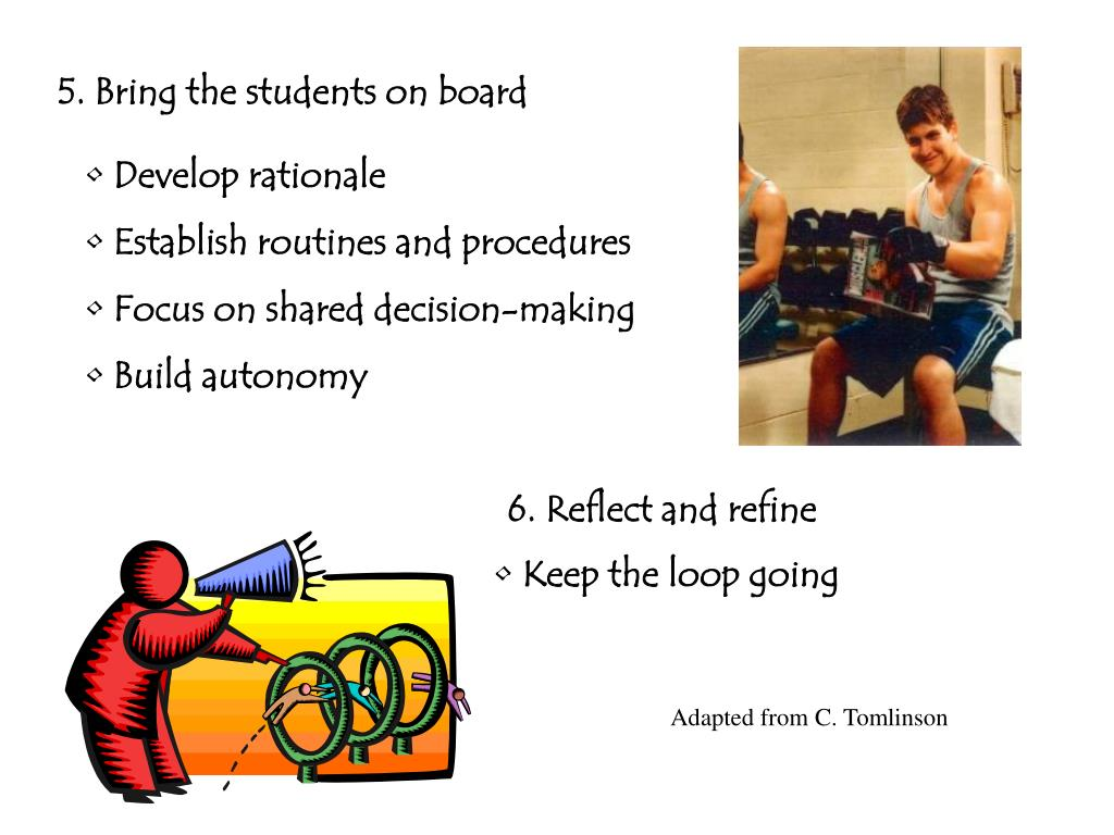 5. Bring the students on board