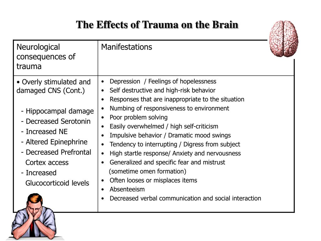 The Effects of Trauma on the Brain